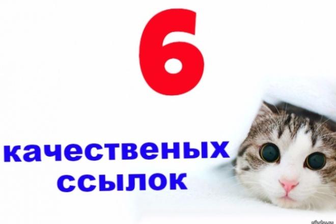 Оставлю 6 качественных ссылок  на тематических форумах 1 - kwork.ru