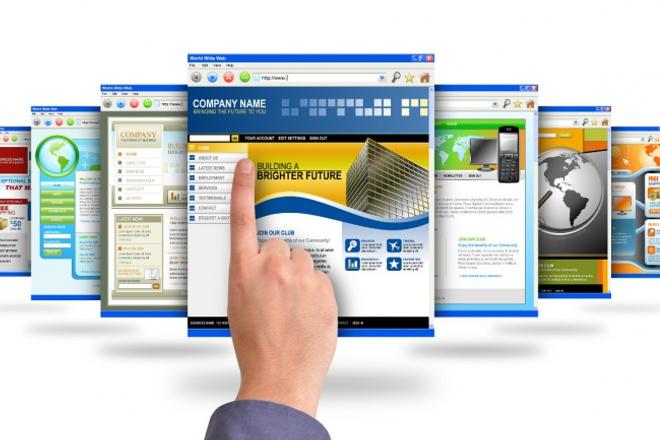 сайт-визитку на Wordpress, Joomla 1 - kwork.ru
