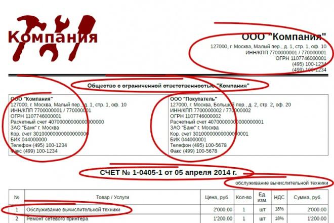 Подготовлю комплект документов по реализации товаров, работ, услуг. 1 - kwork.ru