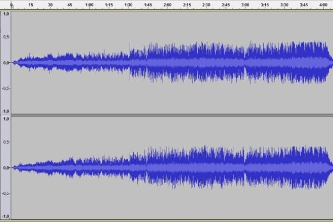 Уберу шум из аудиозаписиРедактирование аудио<br>Удаляю шум, который заглушает или мешает услышать речь, музыку или другие желаемые звуки. Выполню работу максимум за час<br>