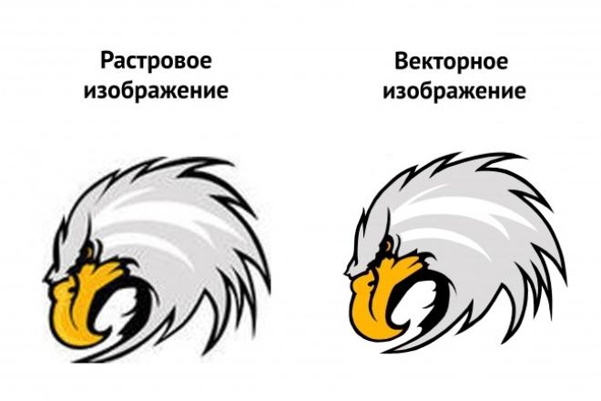Отрисую ваш логотип или любое другое изображение в вектореОтрисовка в векторе<br>Профессионально и качественно отрисую Ваш простой логотип или картинку из растрового изображения в векторный формат. Если Вам необходима отрисовка более сложного логотипа или картинки - нужно прислать мне образцы для выявление стоимости. Работа выполняется в ручную, уделяется внимание к каждой детали. В итоге вы получаете точную копию вашего логотипа или картинки в векторном формате. Неограниченное количество доработок. До того момента пока вы окончательно не будете довольны результатом.<br>