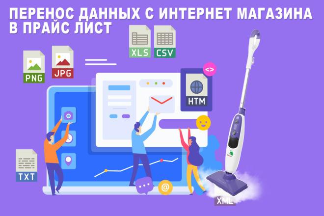 Парсинг сайтов, интернет-магазинов, доски объявлений 1 - kwork.ru