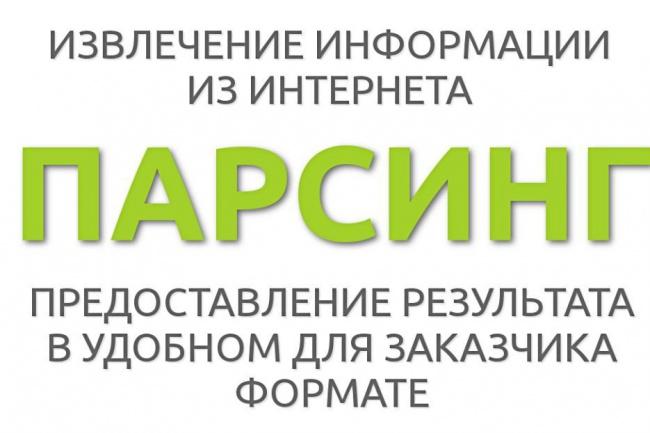 Парсинг любых сайтов, соц. сетей. Пишу шаблоны под Zennoposter 1 - kwork.ru
