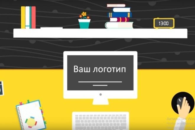 Сделаю заставку для ваших видео на YouTubeВидеоролики<br>Анимация вашего логотипа в любом стиле. Создание видеозаставки с вашим логотипом. Озвучивание - в комплекте.<br>