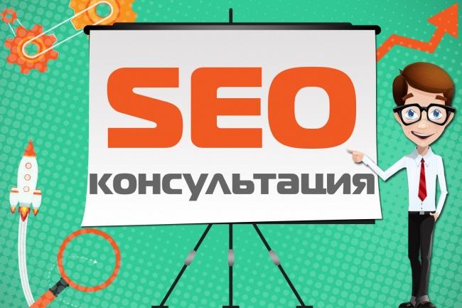 SEO консультация по вашему сайту - ошибки, рекомендации в продвижении 1 - kwork.ru