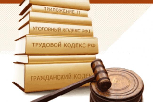 Составлю иски, претензии, договоры 1 - kwork.ru
