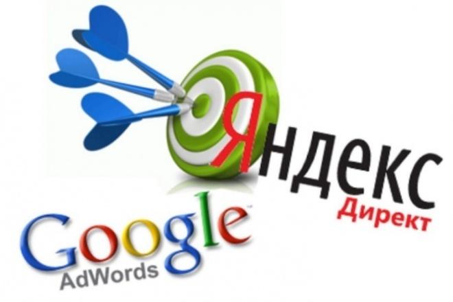 подготовлю кликабельную кампанию контекст (Директ или AdWords) 1 - kwork.ru