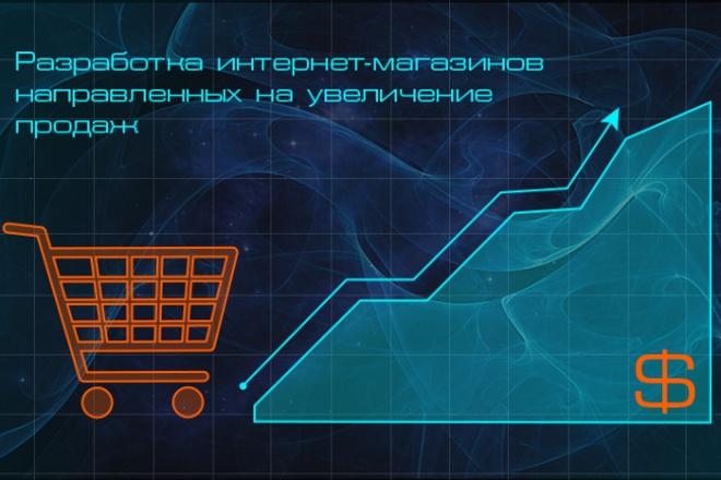 Создам и настрою интернет-магазин 1 - kwork.ru