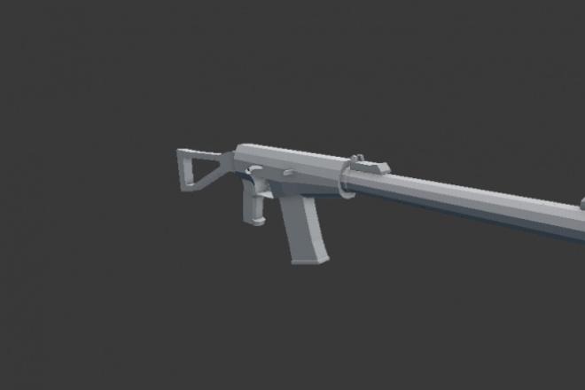 Сделаю игровую 3д модель 1 - kwork.ru