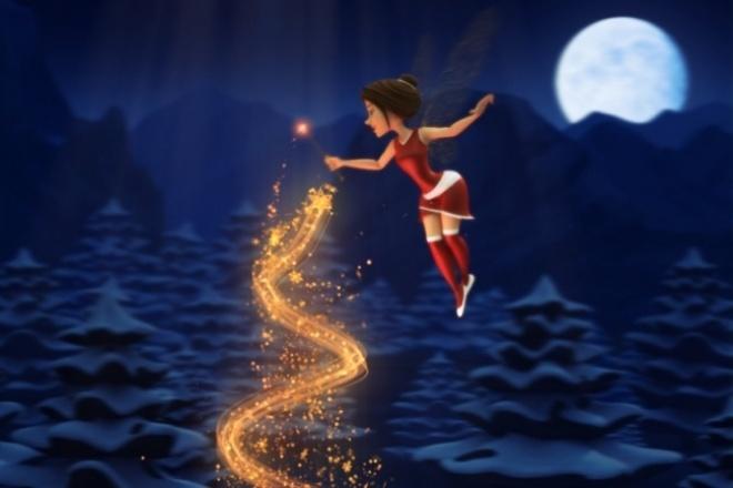 Рождественская феяПоздравления<br>Создам яркий, волшебный и неповторимый видеоролик-сказку для Ваших родных и близких. Только радостные эмоции от просмотра.<br>