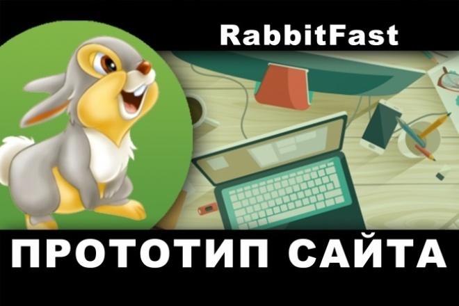 Прототип для сайта 1 - kwork.ru