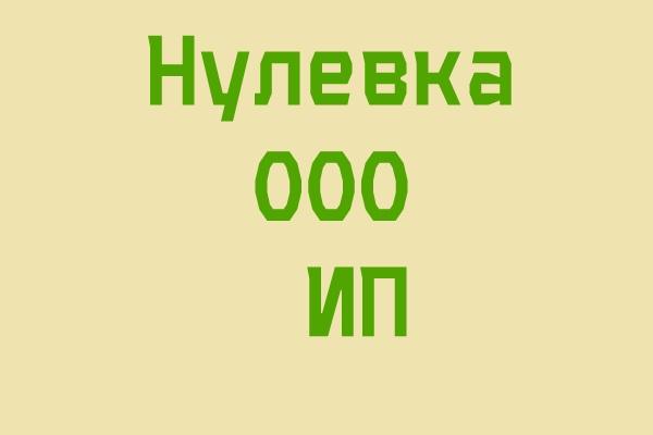 Подготовлю нулевую декларацию 1 - kwork.ru