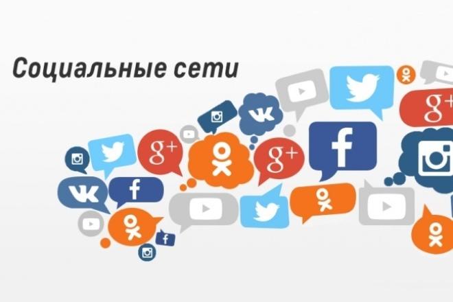 Зарегистрирую в социальной сети 1 - kwork.ru