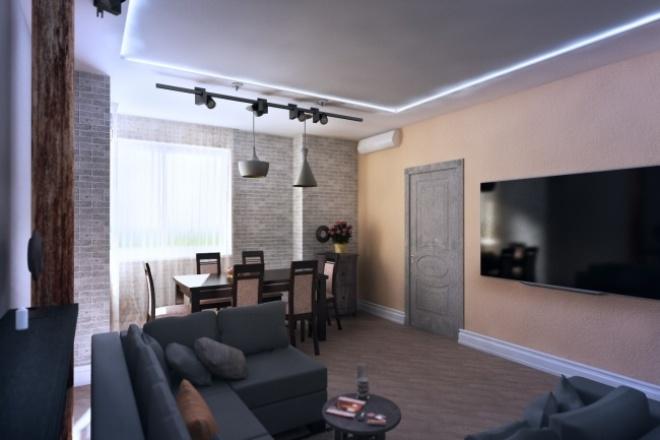 Выполню визуализацию интерьера/экстерьераМебель и дизайн интерьера<br>Выполню 3d визуализацию интерьера/экстерьера.Стоимость 500р- 2кв.м интерьера, 10кв.м экстерьера.<br>
