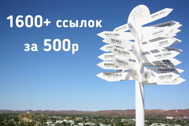 Размещение ссылок 1600 за 500р. Хрумер прогон 1 - kwork.ru