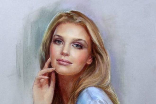 Портрет пастелью, карандашом любой сложностиИллюстрации и рисунки<br>Выполню портрет пастелью или карандашом с фото любой сложности. Портрет выполняется с фото, возможна комичная иллюстрация. Срок выполнения работы до 3 рабочих дней в зависимости от сложности выполнения<br>
