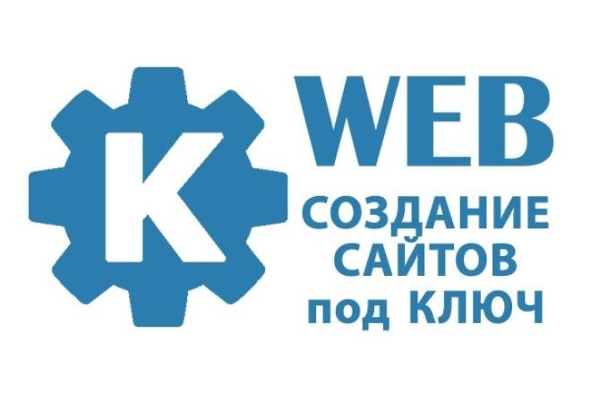 Разработка сайтов на системе управления 1 - kwork.ru
