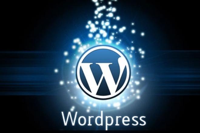 Wordpress: установка, настройка шаблона, плагины Вордпресс 1 - kwork.ru