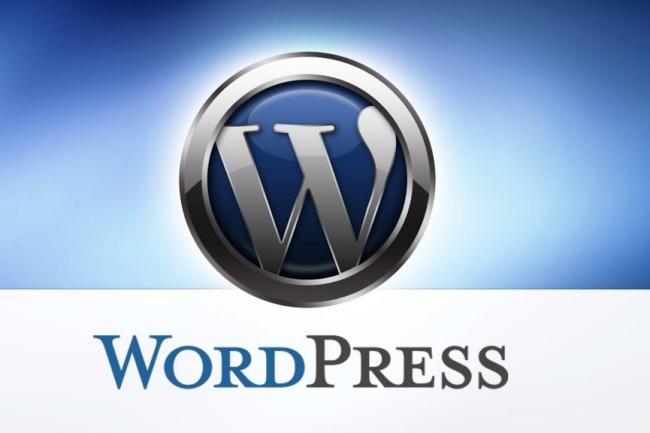 Сайт на вордпресСайт под ключ<br>Создам сайт на wordpress с любой темой, установлю необходимые плагины. В услугу входит: - Подготовка хостинга - Подготовка домена - Установка сайта на хостинг - Установка темы - Настройка сайта - Установка плагинов - Настройка плагинов<br>