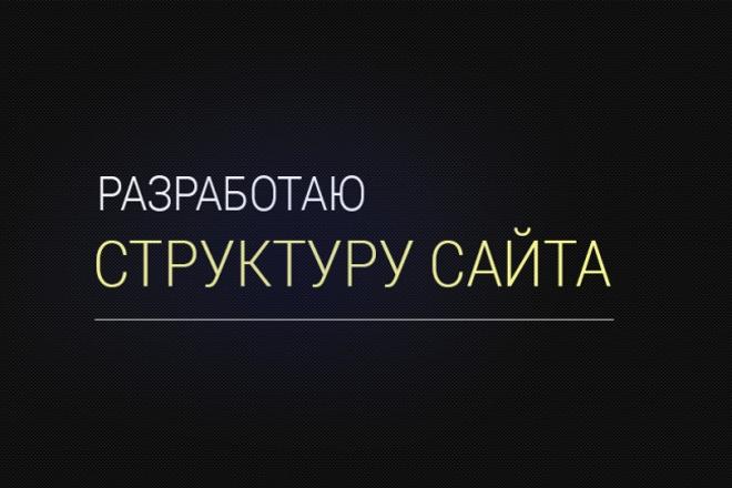 Разработаю структуру сайта 1 - kwork.ru