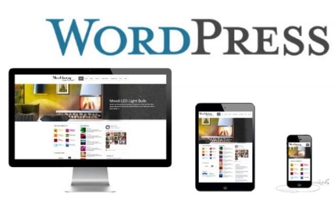 Создание сайта WordPress быстро и качественно 1 - kwork.ru