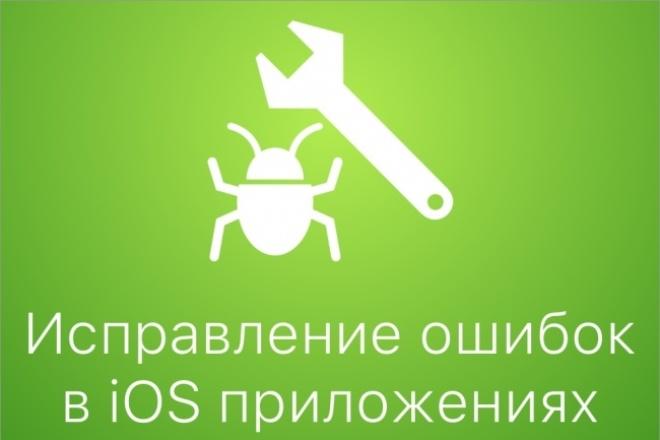 Исправление багов iOS приложения 1 - kwork.ru
