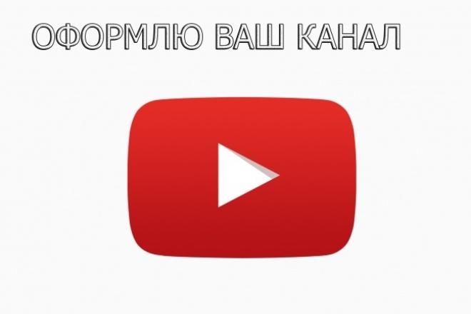 Оформлю ваш канал 1 - kwork.ru