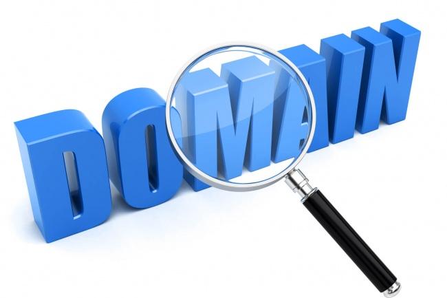 Подберу доменное имя для сайтаДомены и хостинги<br>1. Придумаю свободное красивое доменное имя для Вашего сайта. 2. Проверю историю домена. 3. Предложу несколько вариантов. 4. + бонус от меня помощь и выбор хостинга для вашего домена.<br>