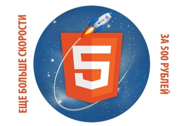 Ускорю загрузку сайта по Google до максимально возможного 1 - kwork.ru