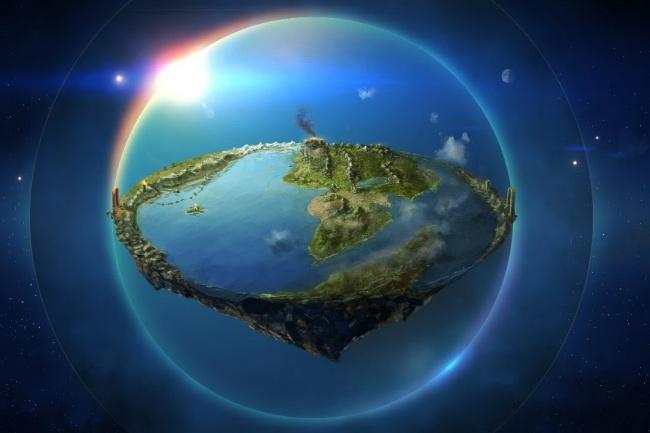Поговорим о Плоской Земле 1 - kwork.ru