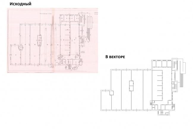 Нарисую план здания, план эвакуацииИнжиниринг<br>Нарисую: 1. План здания в векторе или другом формате (по согласованию) на основе отсканированного изображения, фотографии, рисунка. При необходимости, с указанием размеров. 2. План эвакуации.<br>