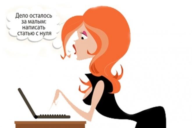 Напишу авторский текст 1 - kwork.ru