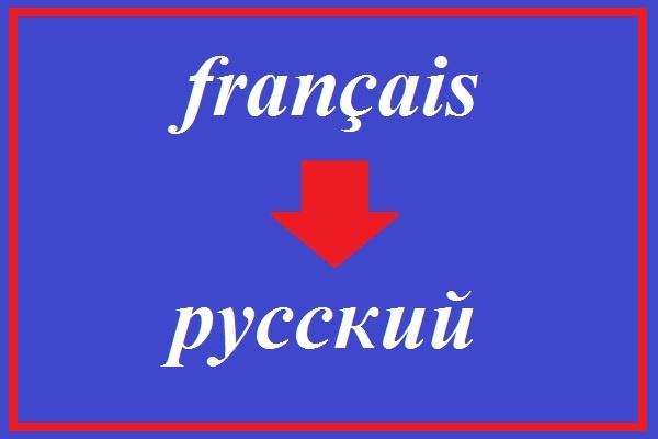 Профессиональный перевод с французского 1 - kwork.ru