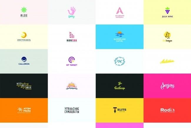 Профессиональный логотип -собственный дизайн 16 - kwork.ru