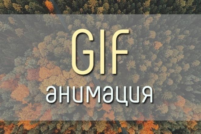 Сделаю Gif из видео или изображений 1 - kwork.ru