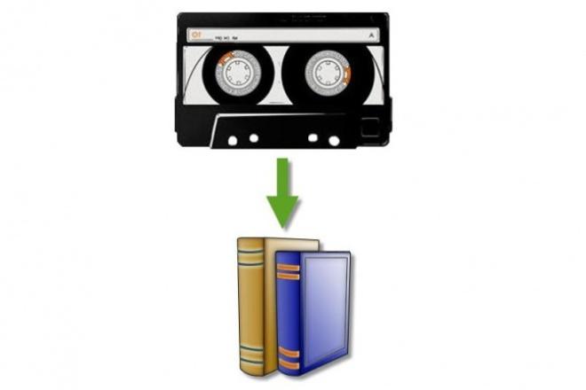 Преобразую аудио и видео в текстНабор текста<br>Перевожу в текст аудио и видео записи высокого и среднего качества, на русском языке (главное, чтобы было разборчиво). При необходимости уберу оговорки, неприемлемую лексику, повторы и т. п. Результатом работы будет грамотно оформленный печатный текст без ошибок в любом удобном для Вас формате. Большой опыт работы.<br>
