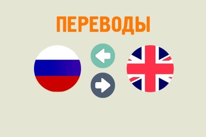 переведу любой текст с английского на русский 1 - kwork.ru