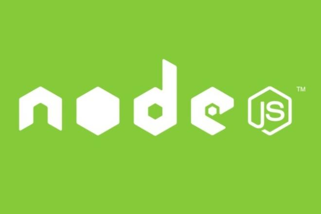 разработка сервиса на Node.js 1 - kwork.ru