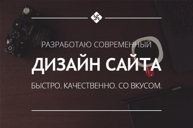 Разработаю адаптивный дизайн для вашего сайта 1 - kwork.ru