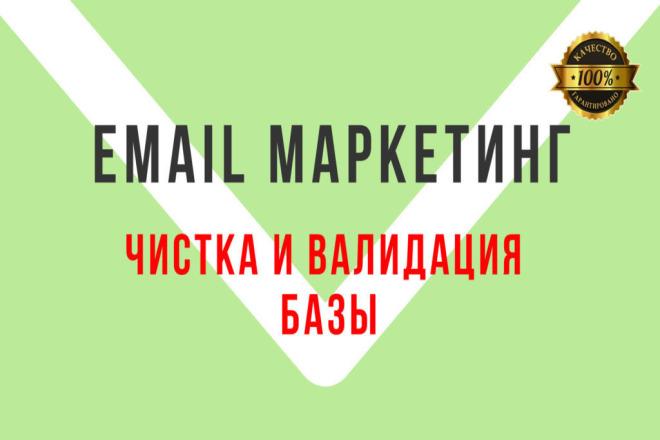 Чистка E-mail базы до 100.000 адресов. Проверка базы на валидность 1 - kwork.ru