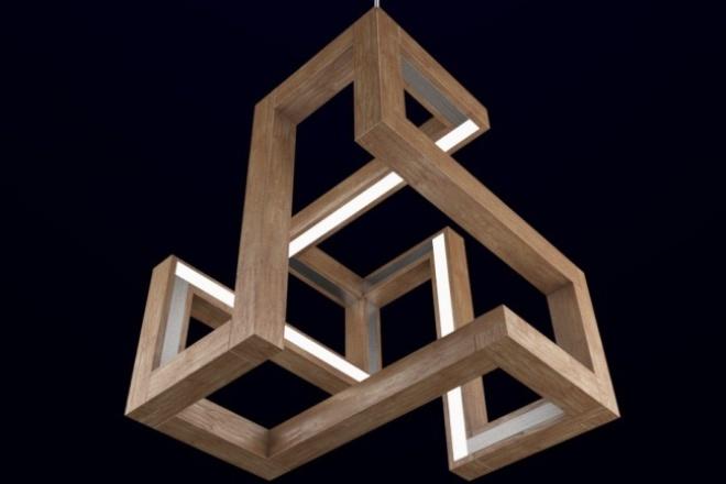 Создам модель светильника 1 - kwork.ru