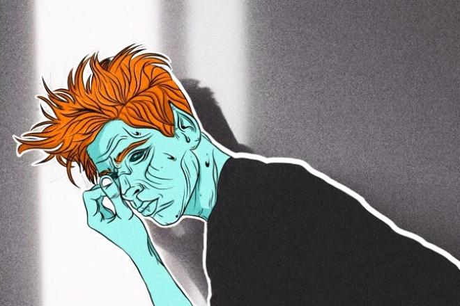 Нарисую Zombie Art 1 - kwork.ru