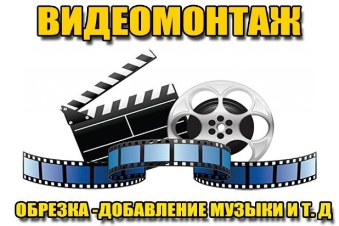 Профессиональный видеомонтаж 1 - kwork.ru