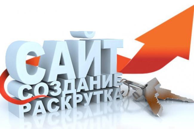 Создам полноценный сайт, каталог товаров Вашего бизнеса, могу быть админом 1 - kwork.ru
