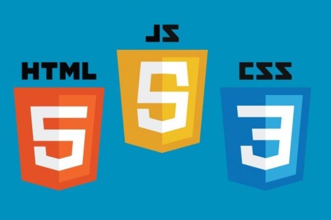 Кроссбраузерная HTML5 верстка 1 - kwork.ru