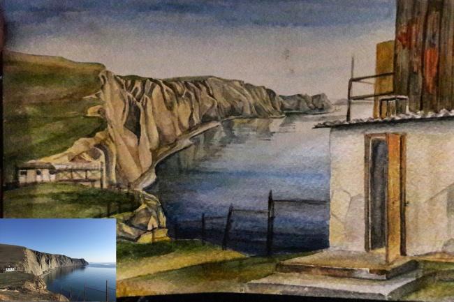 Рисую открытки по фото 1 - kwork.ru