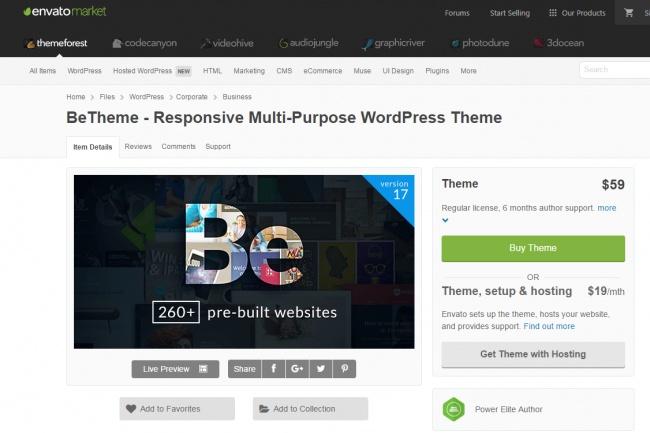 19 Премиум тем для WordPress 1 - kwork.ru