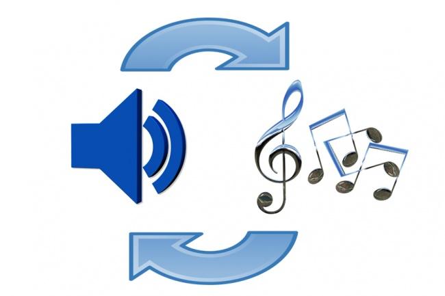 Переведу аудиозапись в ноты и midi-данные 1 - kwork.ru