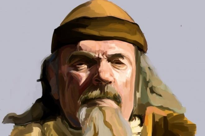 Напишу цифровой портрет 1 - kwork.ru