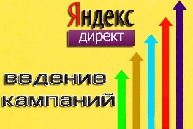 Эффективное сопровождение рекламных кампаний в Яндекс. Директ 1 - kwork.ru